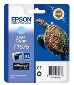 Epson T1575 Lys Cyan 25ml Epson Stylus Photo R3000