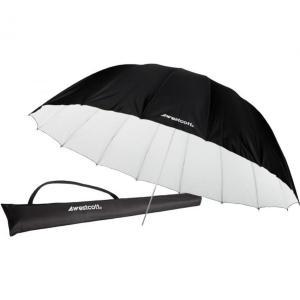 Westcott Standard Umbrella White 2,1m 7ft (2,1 m) Parabolisk paraply Sort/Hvit