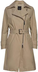 SAND Techno Cotton W - Quita New Trench Coat Kåpe Beige SAND Women