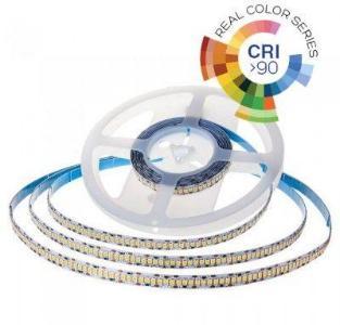 V-Tac 21W/m LED strip - Samsung LED chip, 5m, IP20, 24V, 700 LED per. meter - Kulør : Nøytral