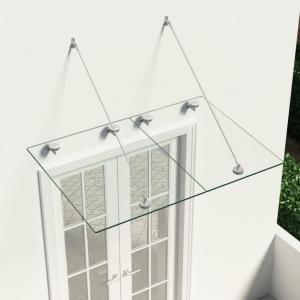 VSG Tak til inngangsdør glass - 135x90 cm
