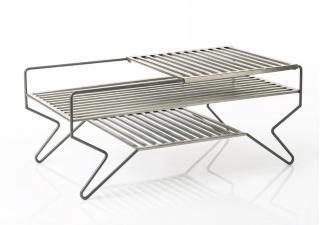 Settbord 110 Cm - Grå