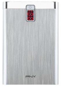 PNY PowerPack Digital 7800 - 7800mAh Nødlader - Sølv - 7800 mAh P-B7800-14S02-RB