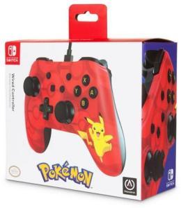 Power A Nintendo Switch Wired Controller Pikachu   AK9SD2