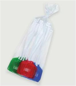 Silvalure Fluesmekker plast ass rød, grønn, blå