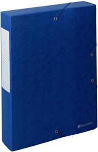 Exacompta Strikkboks 60mm 600g blå 50912E