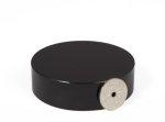 Neodym disk magnet Ø 70 x 20 mm med løftekraft 130 kg | Sort Epoxy
