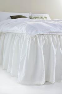 AMANDA sengekappe 60 cm Hvit