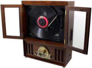 Soundmaster Vegghengt platespiller NR600 Unisex