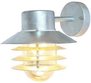 Vegglampe Ecolite Orion Down Galvanisert