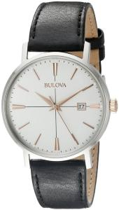 Bulova 98B254 Dress Hvit/Lær Ø39 mm