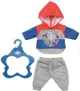 BABY Born Trend Casuals 43cm - collegegenser og bukse til dukke