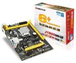 Biostar J1800MH2 Ver. 6.x, Intel, BGA 1170, Intel® Celeron®, 2,41 GHz, DDR3-SDRAM,DDR3L-RS-SDRAM, DIMM