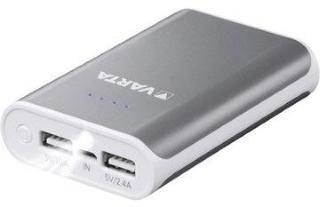 Varta Powerpack 10400mAh Powerbank - Grå