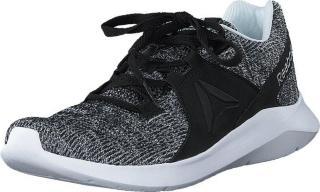 Reebok Energylux Black/white/silver Met., Sko, Sneakers og Treningssko, Løpesko, Grå, Dame, 41