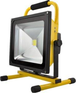 VLIKE Arbeidslampe LED, 50W oppladbar - Demobrukt
