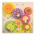 Le Toy Van Petilou® Gears & Cogs 'Busy Bee Learning' Set 12 - 24 months