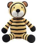 natureZOO Crochet Tiger Plush 0 - 12 mnd