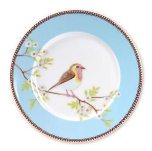 Asjett early bird Pip Frokost Blå 21cm. porselen