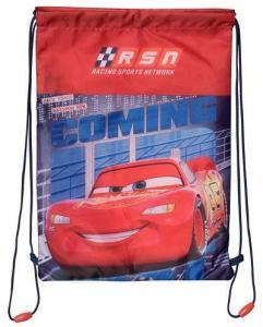 Disney Pixar Cars, Disney Cars Draw String Bag Fiery Red, Peacoat