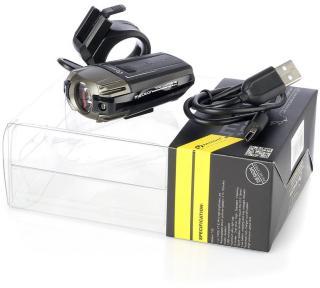 Sykkellykt Moon Meteor, 100 lm, Inkl. USB-ladekabel