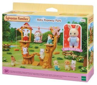 Epoch Sylvanian Families Baby Ropeway Park NEW