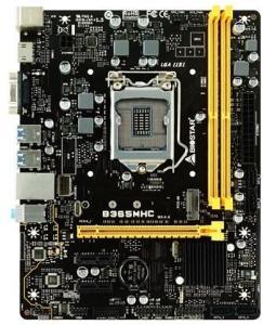 BIOSTAR B365MHC Intel B365 LGA 1151 uATX GbE L Hovedkort - socket - B365MHC