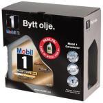 mobil-1 mobil nl 0w-40 4+1 liter