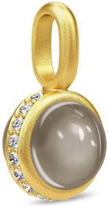 Julie Sandlau Luna Pedant - Gold/Grey Halskjede Anheng Gull Julie Sandlau Women