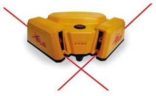 PLS FT 90 Krysslaser med rød laser