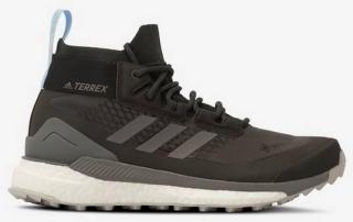 adidas Sport Performance Tursko Terrex Free Hiker GTX W Women Carbon/Grey Four/Glow Blue
