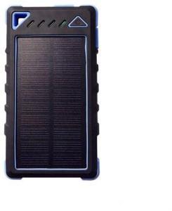 DOCA D-S8000 Powerbank sollader 8000 mAh - blå