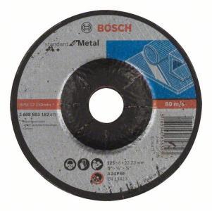 Slipeskive Bosch Standard 125x6 mm