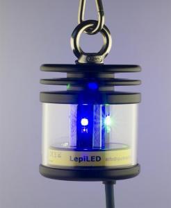 LepiLED UV-LED-lampe 0.6, Mini For å tiltrekke seg nattsommerfugler
