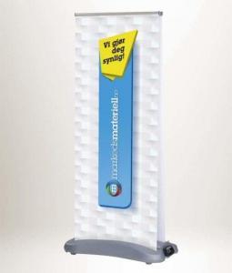 Rollup Utendørs 85x200 - 2-sidig vannfast Roll-Up