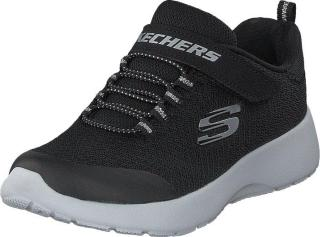 Skechers Dynamight Blk, Sko, Sneakers og Treningssko, Vandresko, Grå, Barn, 27