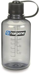 Nalgene Narrow Mouth Bottle 0,5L Tritan, Grey/Black, OneSize