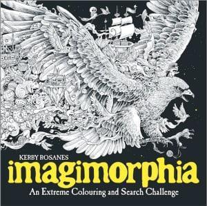 Imagimorphia. En helt spesiell fargeleggings- og tegnebok