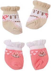 Baby Annabell Socks til dukke 43 cm - 2 par med sokker