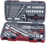 Teng Tools Teng Tools TM127 Pipenøkkelsett. Med 1/4  3/8