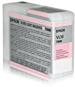 Epson Blekk T580B Vivid Light magenta