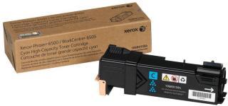 XEROX Phaser 6500 - høykapasitets - cyan - original - tonerpatron (106R01594)