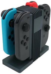Dockningsstation/Bordsladdare för 4x Nintendo Joy-Con Handkontroller