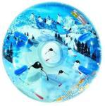 Oppblåsbart akebrett - Snowring 120cm