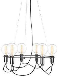 Globen Lighting Pendel Cables Svart