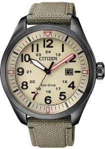 Citizen AW5005-12X Beige/Lær Ø42.6 mm