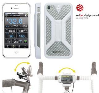Topeak RideCase II IphoneCover Hvit, Iphone 4 /4S