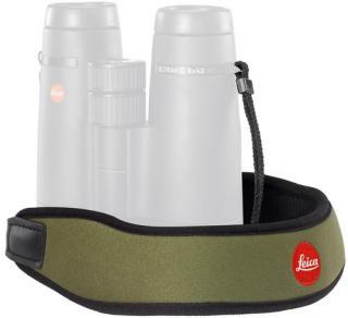 Leica bærerem til kikkerter, grønn I neopren