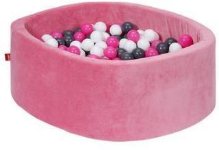 knorr® leker ballbad mykt - Myk rosa inkludert 300 baller krem ??/ grå / rose
