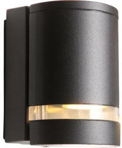 Namron Nemo vegglampe enkel GU10 sort 3234673 Taklampe / Vegglampe